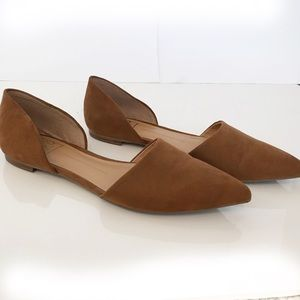 Dolce Vita D8 D'orsay Flats Pointy Toe Size 8.5